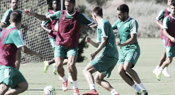 El Real Betis se despide de Montecastillo