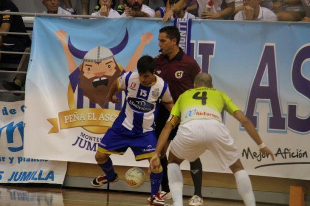 El Palma Futsal consigue tres puntos de oro ante el Montesinos Jumilla