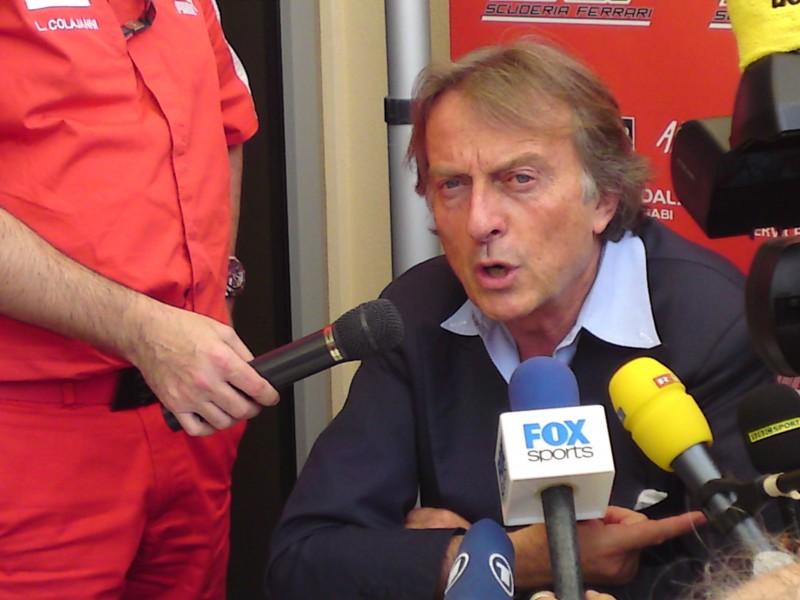 """Montezemolo: """"Es pronto para que Sergio Pérez venga a Ferrari"""""""