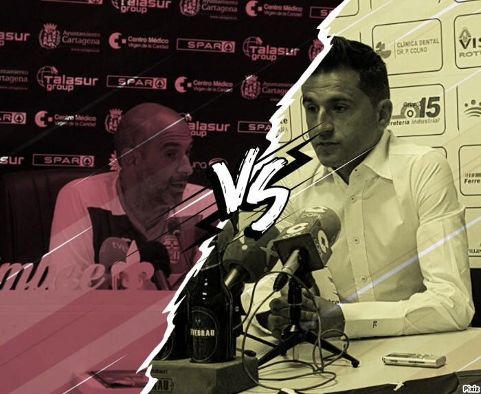 FC Cartagena-Villanovense: Declaraciones de ambos entrenadores previas al choque de la Jornada 5
