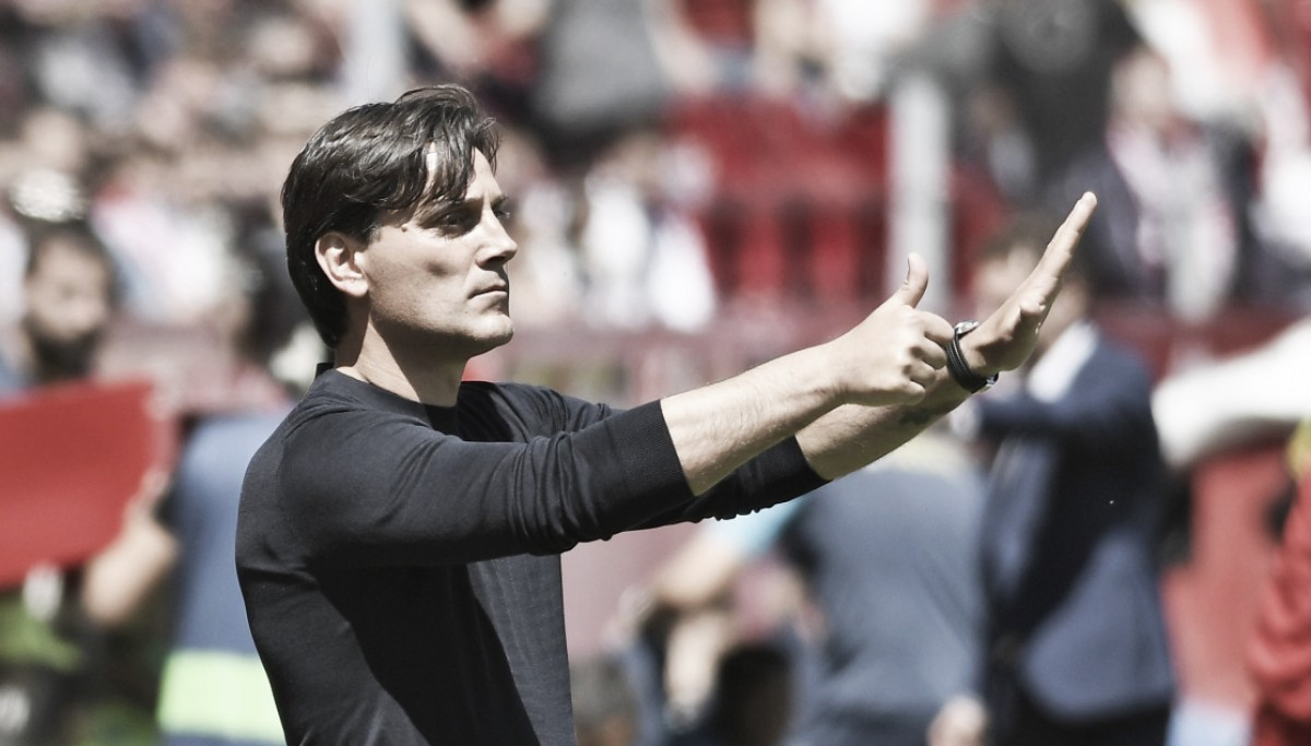 Montella: ''El equipo ha jugado con corazón''