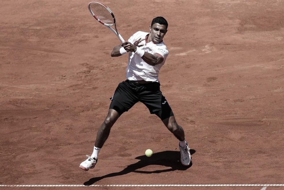 Thiago Monteiro estreia com vitória sobre Francisco Cerúndolo em Roland Garros