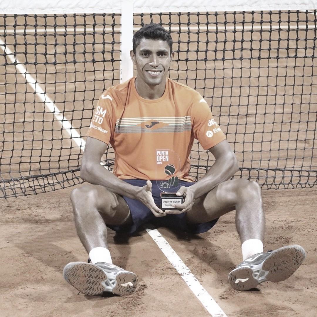 Monteiro conquista Challenger de Punta del Este; outros brasileiros se destacam em vários torneios