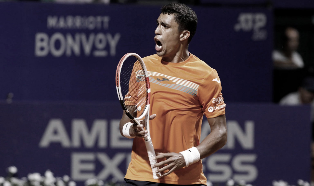 Monteiro se agiganta, vence Coric e segue vivo no ATP 250 de Buenos Aires