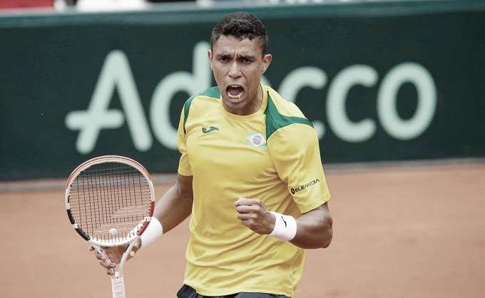 Após vitória de Melo/Soares, Monteiro confirma favoritismo e Brasil bate Barbados na Copa Davis