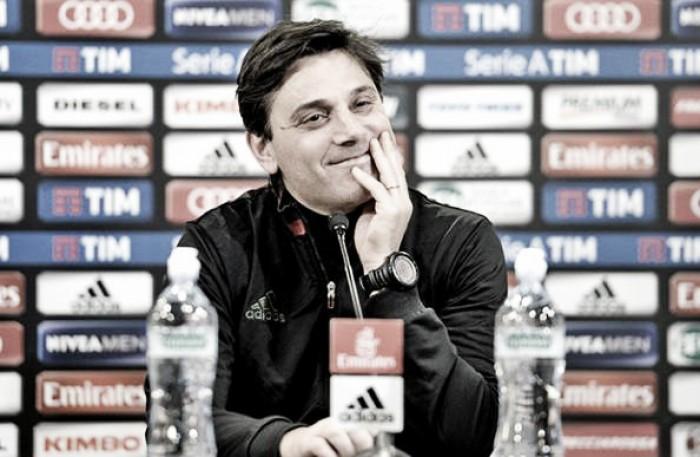 """Milan, Montella gioca a carte scoperte: """"Niang non sarà convocato. Juve forte, ma la Tim Cup è un obiettivo"""""""