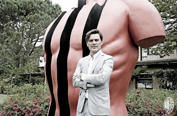Novo treinador do Milan, Montella se diz anestesiado na chegada ao CT do clube