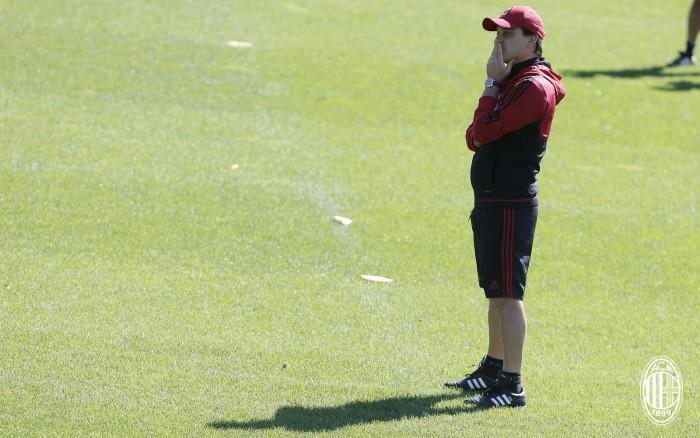 """Milan, Montella fa autocritica: """"Pessima figura contro la Lazio"""""""
