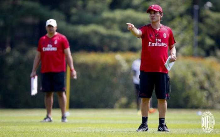 """Milan, Montella: """"Mi aspetto di arrivare in fondo all'Europa League"""""""