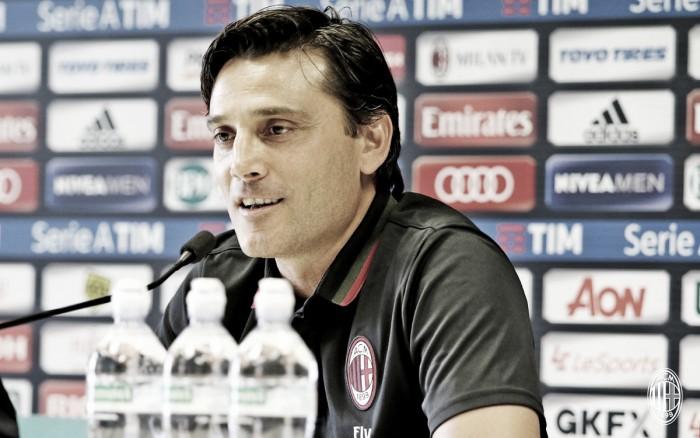"""Milan, Montella in conferenza: """"Tutta la squadra deve aiutare di più la nostra difesa"""""""