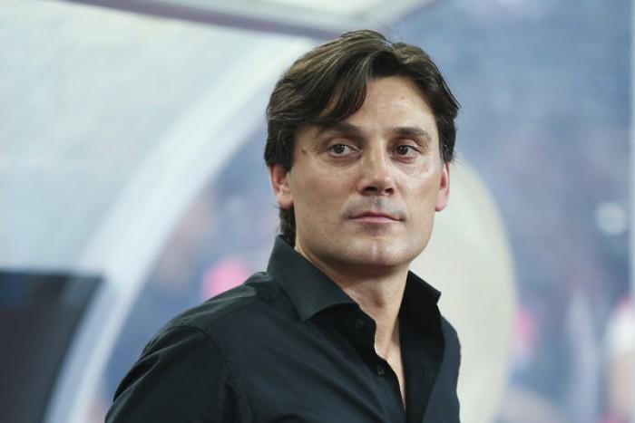 """Milan, Montella: """"Il nostro obiettivo è la Champions League. Capitano? Devo ancora scegliere"""""""