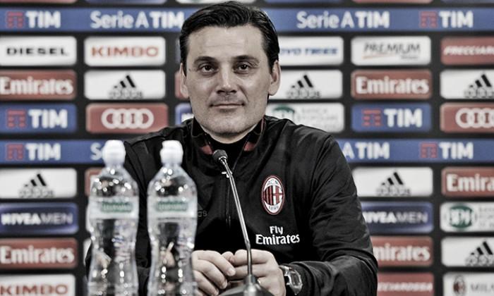 """Milan, Montella: """"Crotone campo caldo, De Sciglio deve accettare i fischi"""""""