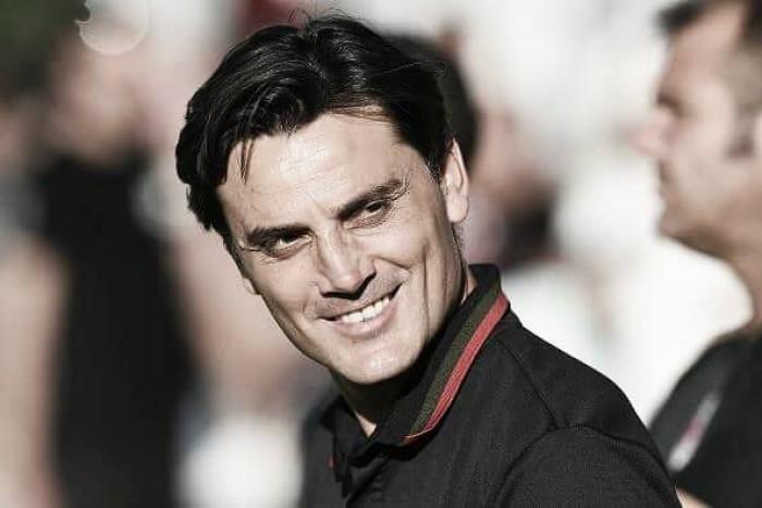 Montella aprova atuação do Milan após vitória sobre Bordeaux em amistoso