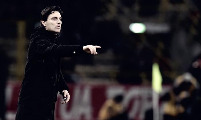Milan - Le voci di Suso e Montella dopo il pareggio con la Lazio