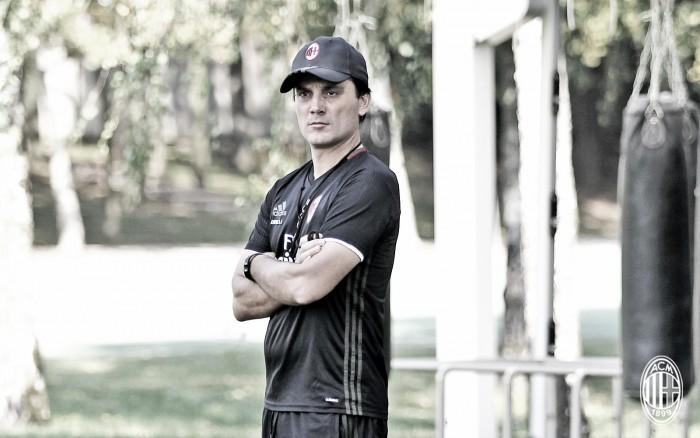 Milan, confronto fra Montella e i giocatori alla ripresa degli allenamenti