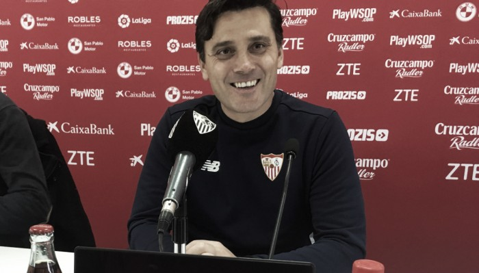 Ex-treinador do Milan, Montella põe Sevilla à frente do clube italiano 'nos últimos dez anos'