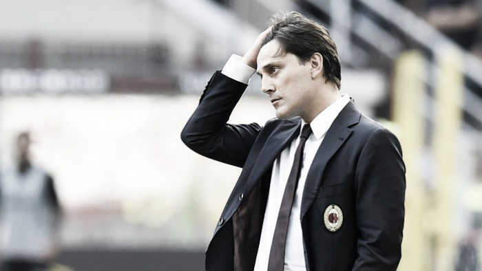 Milan, Montella nel post partita: