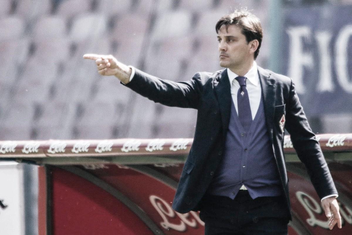 Técnico Vincenzo Montella volta à Fiorentina após quatro anos