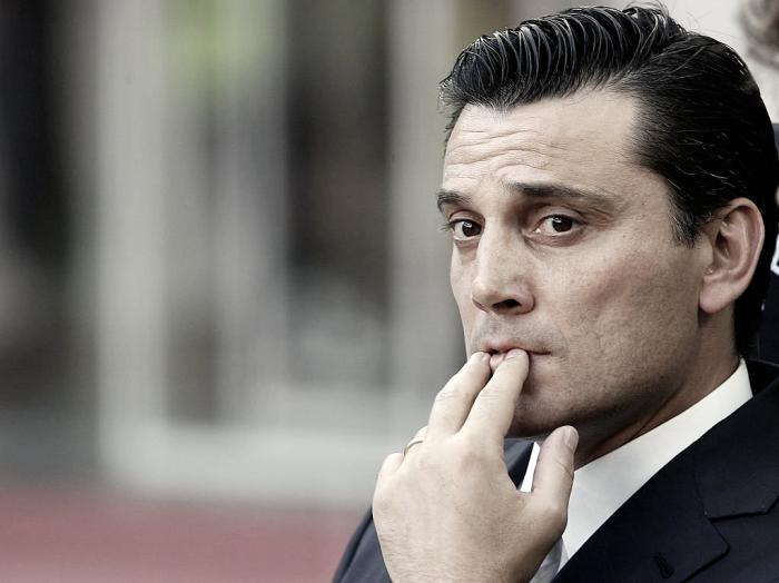 """Verso Juve-Milan - Montella: """"Allenare la Juve? Chissà, intanto voglio un atteggiamento da finale"""""""
