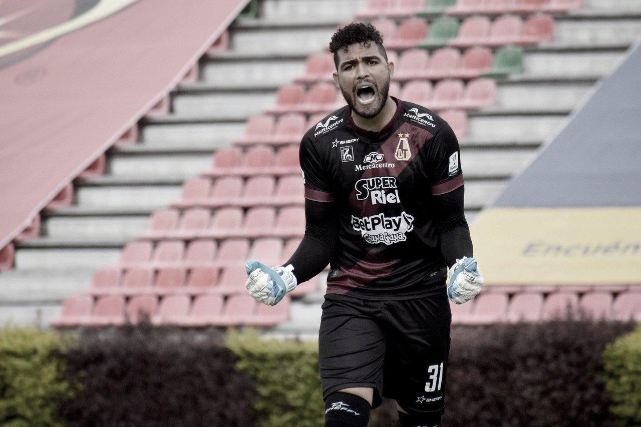 Álvaro Montero, el héroe de la clasificación tolimense a la final de la Copa BetPlay