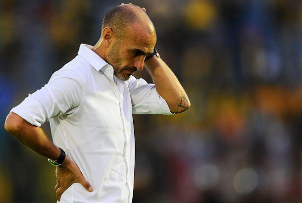 Declaraciones de un golero con dudas y un técnico interino