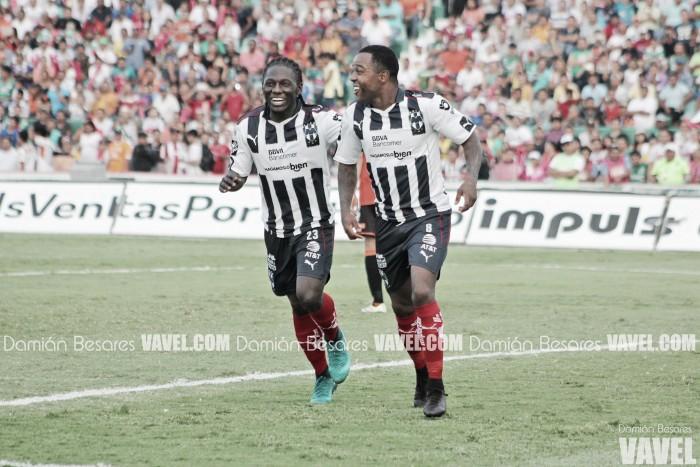Monterrey arrolla a Jaguares y sigue con vida en el torneo