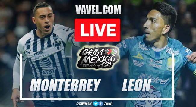 Goals and Highlights on Monterrey 0-1 Leon of Apertura 2021 Liga MX