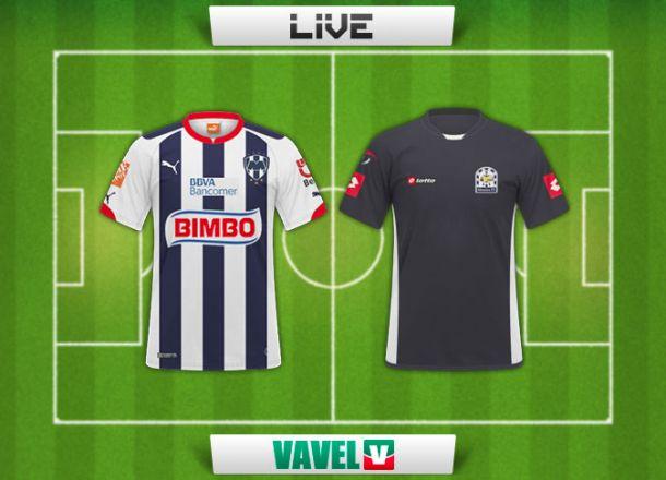Resultado Monterrey - Altamira en Copa MX 2015 (5-0)