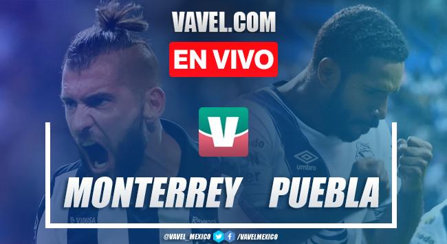 Resumen y goles Monterrey 3-2 Puebla en Liga MX 2019