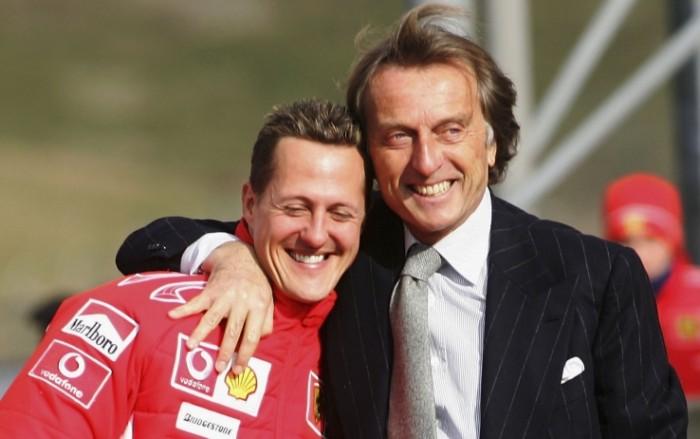 """F1, Montezemolo su Schumacher: """"Sta reagendo alle cure"""""""