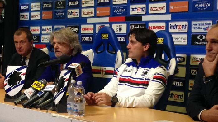 "Sampdoria, Montella: ""Napoli motivato, sfida stimolante. Higuain non deve ricevere palla"""
