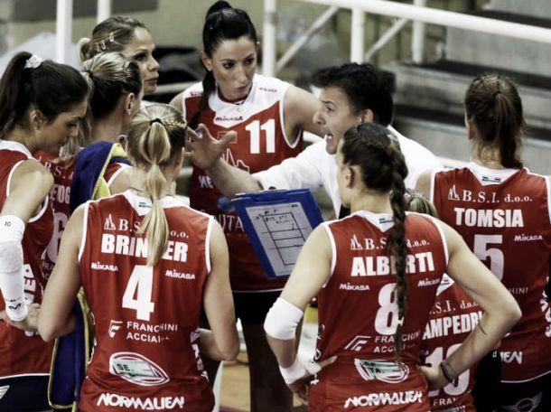Maren Brinker trascina Montichiari ad un'importante vittoria contro Scandicci