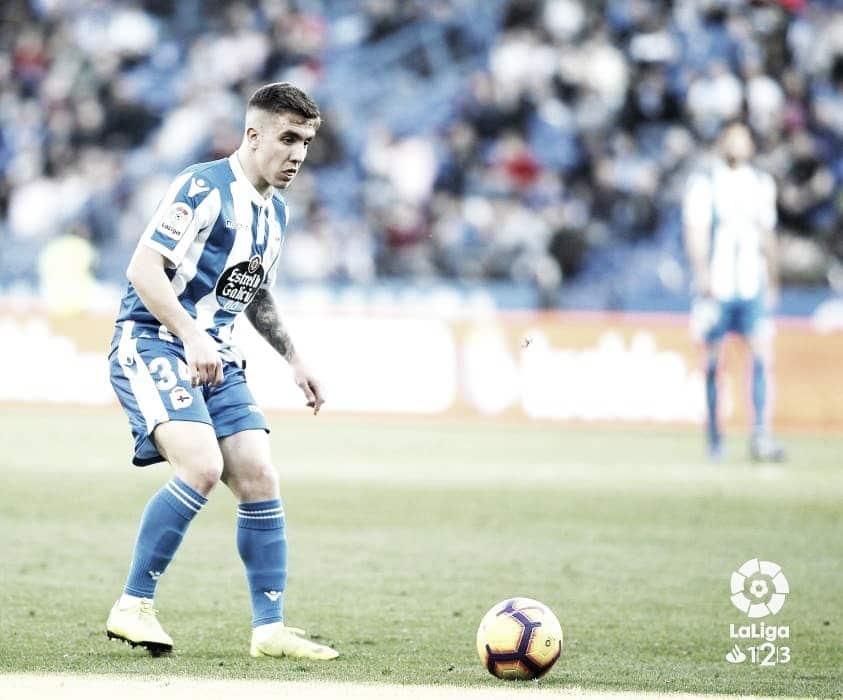 Montiel debuta con el Deportivo de la Coruña