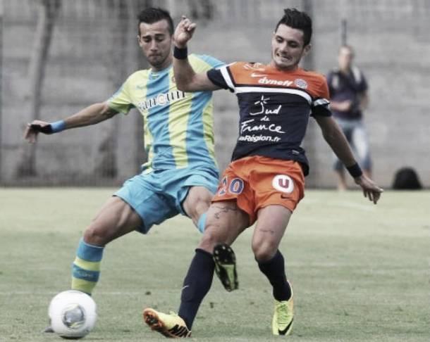Partido vistoso pero sin goles contra el Montpellier
