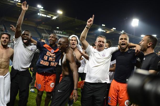 Montpellier sacré champion à Auxerre
