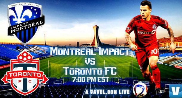 Score Montreal Impact - Toronto FC in 2015 MLS Cup Playoffs (3-0)