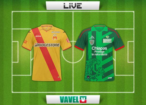 Resultado Monarcas Morelia - Jaguares Chiapas en Liga MX 2015 (3-2)