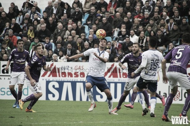 Erik Morán, el mejor frente al Real Valladolid según la afición