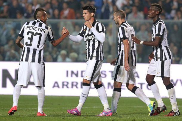 Morata: Loving life at Juve
