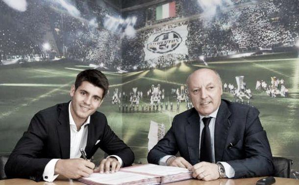 Juventus finalise €20million deal for Álvaro Morata