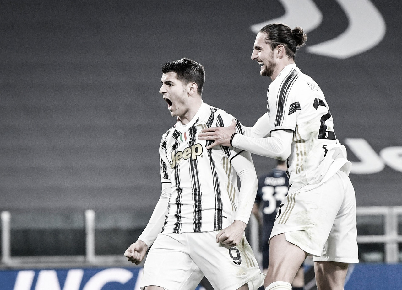 Juventus vence Lazio de virada e se consolida no G-4 da Serie A