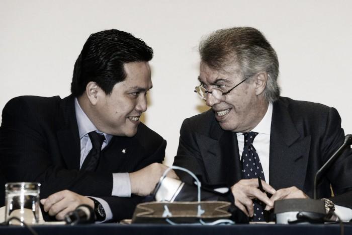 """Moratti: """"Mancini credo che resti, speravo che Thohir investisse di più, ma non è facile"""""""