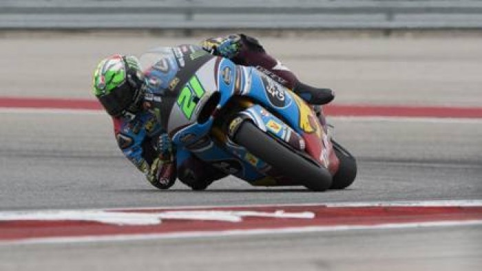 Moto 2, in Texas è tris di Morbidelli