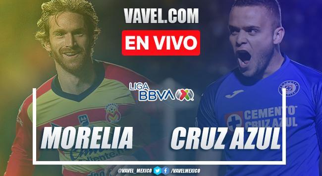 Resumen y goles: Monarcas Morelia 2-4 Cruz Azul, en Liga MX 2020