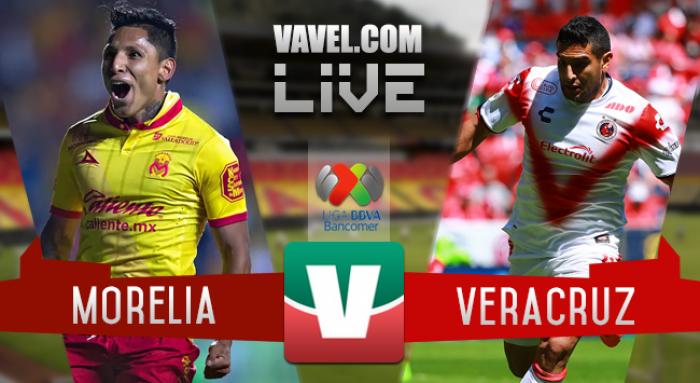 Resultado y goles del Monarcas Morelia 1-0 Veracruz Clausura 2017