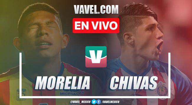 Monarcas Morelia vs Chivas Guadalajara en vivo cómo ver transmisión TV online en Liga MX 2019 (0-0)