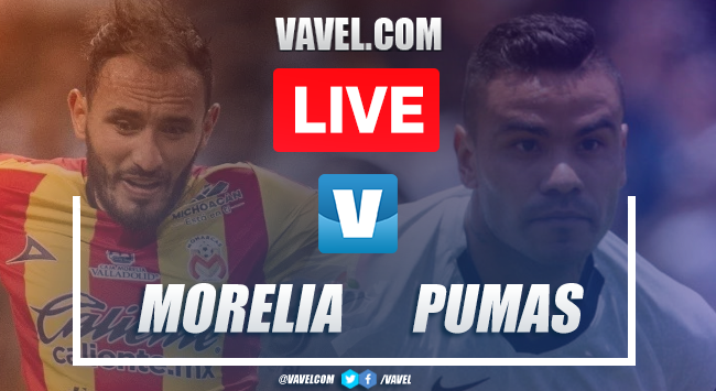 Monarcas Morelia vs Pumas: Live Stream Online TV Updates and How to Watch Liga MX 2019 (0-0)