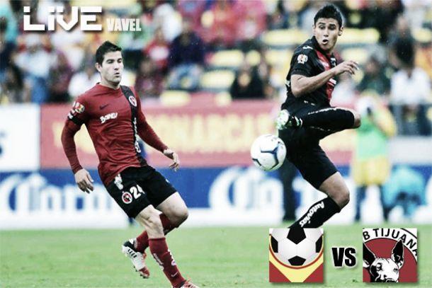 Resultado Monarcas Morelia - Xolos de Tijuana en Liga MX 2014 (0-0)