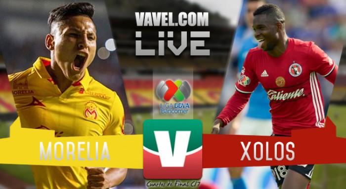 Resultado y goles del Morelia 1-0 Xolos de la Liguilla MX 2017