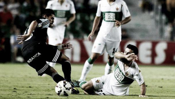 Resultado Celta de Vigo vs Elche en Liga BBVA 2015 (1-1)